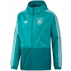 Germany green training rain jacket 2018/19 - Adidas