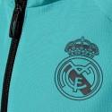 Real Madrid presentation tracksuit 2018 black/light blue - Adidas