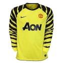 Torwart Fußball Trikot Manchester United 2010/11 Home-Nike