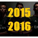 Calcio: Maglie 2015/16